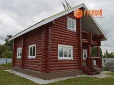 Дом 102 кв.м.+терраса 4,6+балкон 4,6 Московская обл, Егорьевский р-н, с. Раменки, 2018 г.