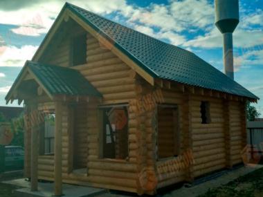 Баня, Московская область, Серпуховский район, д. Ланьшино, 2018 г.
