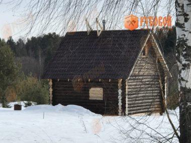 Дом 6*6, Кировская обл., п. Адышево, 2017 г.