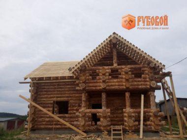 Дом 9,5*8 метров в Республике Карелия, г. Сортавала, 2020 г.